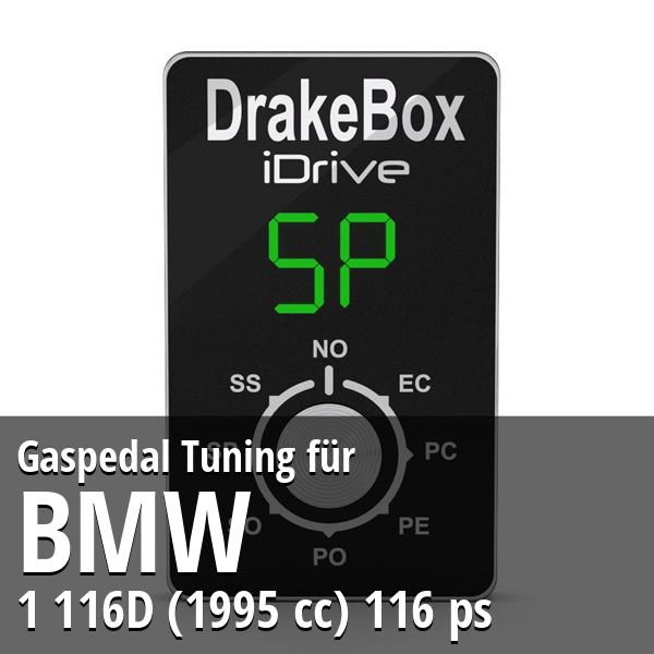 Gaspedal Tuning Bmw 1 116D (1995 cc) 116 ps