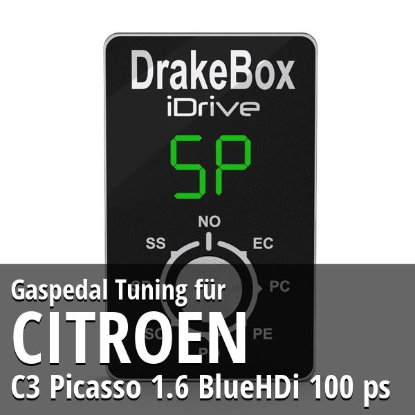 Gaspedal Tuning Citroen C3 Picasso 1.6 BlueHDi 100 ps