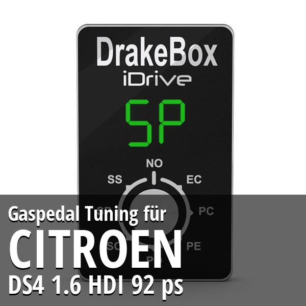 Gaspedal Tuning Citroen DS4 1.6 HDI 92 ps