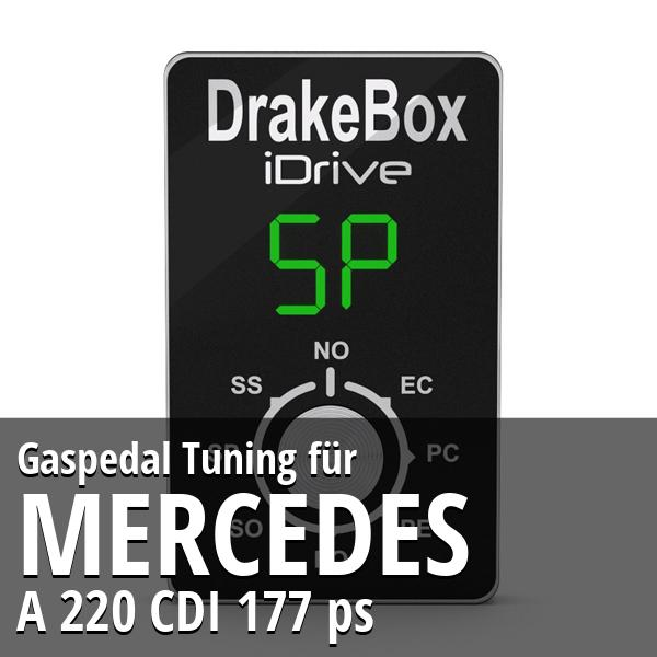 Gaspedal Tuning Mercedes A 220 CDI 177 ps