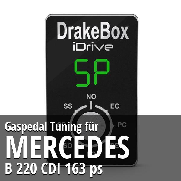 Gaspedal Tuning Mercedes B 220 CDI 163 ps