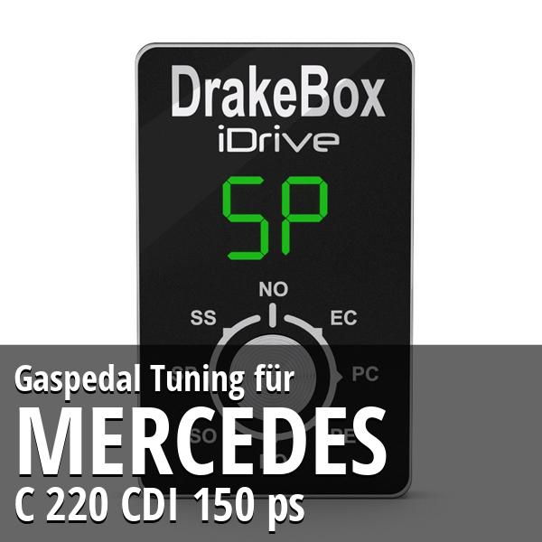 Gaspedal Tuning Mercedes C 220 CDI 150 ps