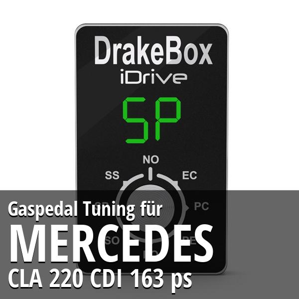 Gaspedal Tuning Mercedes CLA 220 CDI 163 ps