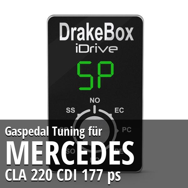 Gaspedal Tuning Mercedes CLA 220 CDI 177 ps