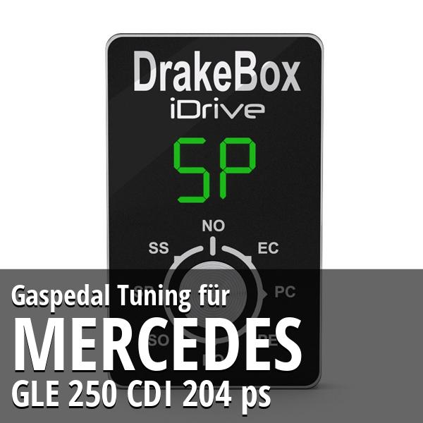 Gaspedal Tuning Mercedes GLE 250 CDI 204 ps