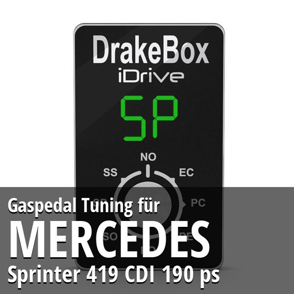 Gaspedal Tuning Mercedes Sprinter 419 CDI 190 ps