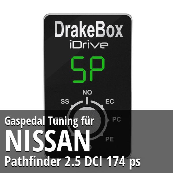 Gaspedal Tuning Nissan Pathfinder 2.5 DCI 174 ps