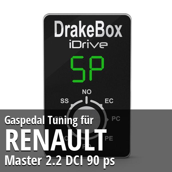 Gaspedal Tuning Renault Master 2.2 DCI 90 ps