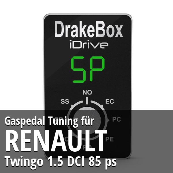 Gaspedal Tuning Renault Twingo 1.5 DCI 85 ps