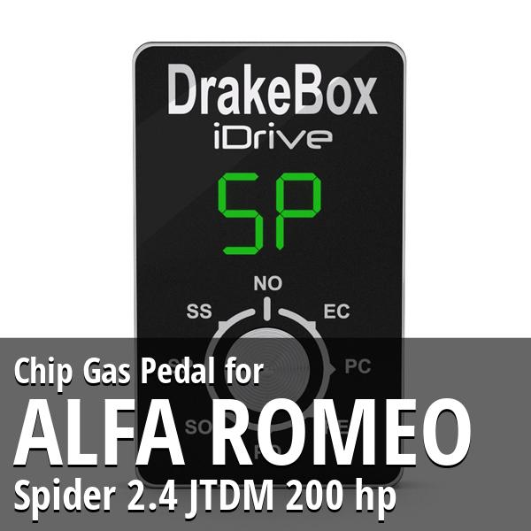 Chip Alfa Romeo Spider 2.4 JTDM 200 hp Gas Pedal
