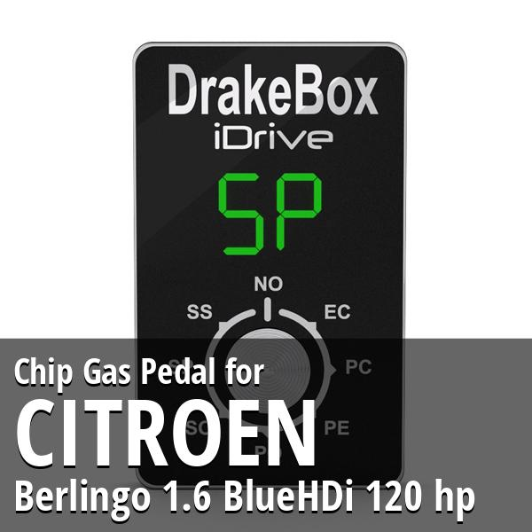 Chip Citroen Berlingo 1.6 BlueHDi 120 hp Gas Pedal