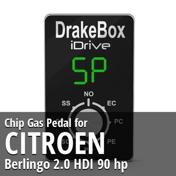 Chip Citroen Berlingo 2.0 HDI 90 hp Gas Pedal