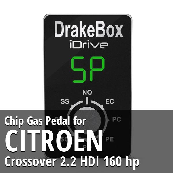 Chip Citroen Crossover 2.2 HDI 160 hp Gas Pedal