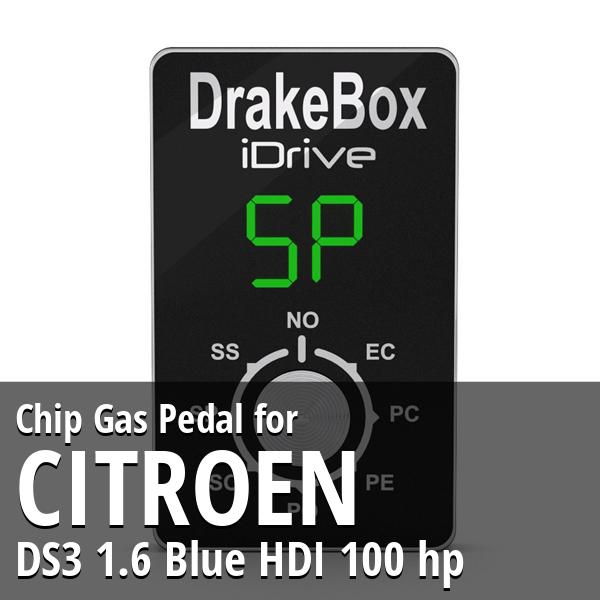 Chip Citroen DS3 1.6 Blue HDI 100 hp Gas Pedal