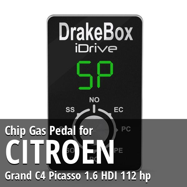 Chip Citroen Grand C4 Picasso 1.6 HDI 112 hp Gas Pedal