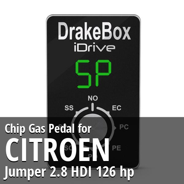 Chip Citroen Jumper 2.8 HDI 126 hp Gas Pedal
