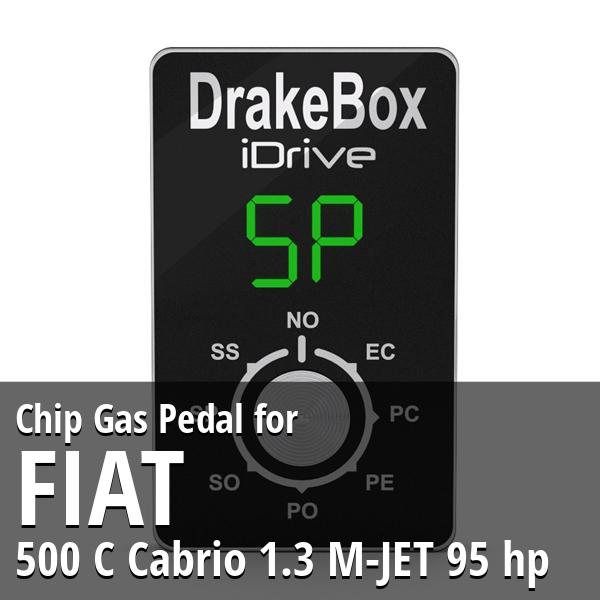 Chip Fiat 500 C Cabrio 1.3 M-JET 95 hp Gas Pedal