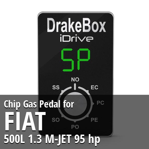 Chip Fiat 500L 1.3 M-JET 95 hp Gas Pedal