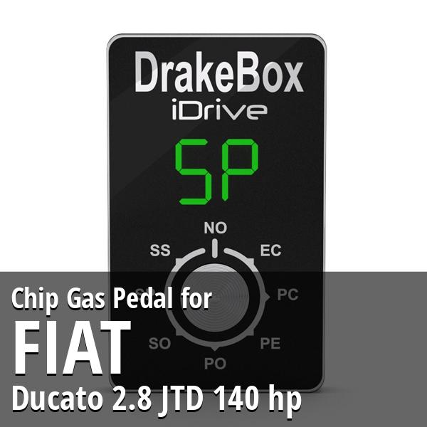 Chip Fiat Ducato 2.8 JTD 140 hp Gas Pedal