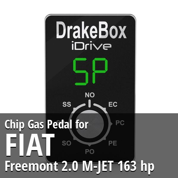 Chip Fiat Freemont 2.0 M-JET 163 hp Gas Pedal