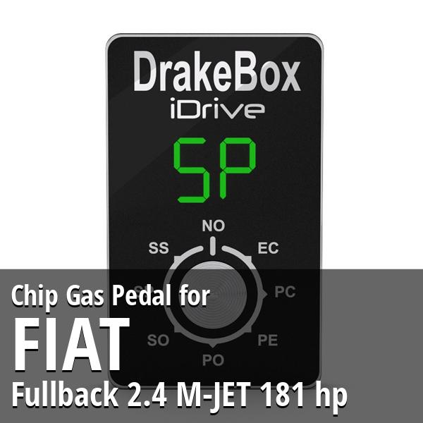Chip Fiat Fullback 2.4 M-JET 181 hp Gas Pedal