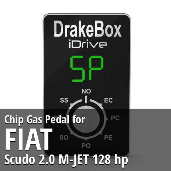 Chip Fiat Scudo 2.0 M-JET 128 hp Gas Pedal