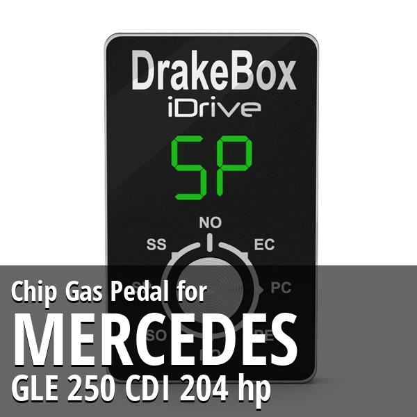 Chip Mercedes GLE 250 CDI 204 hp Gas Pedal