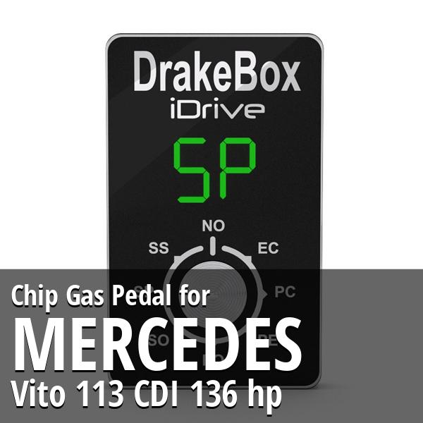 Chip Mercedes Vito 113 CDI 136 hp Gas Pedal
