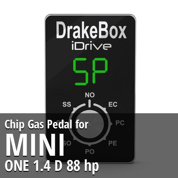 Chip Mini ONE 1.4 D 88 hp Gas Pedal
