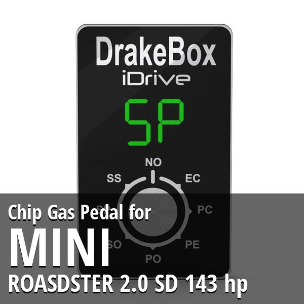 Chip Mini ROASDSTER 2.0 SD 143 hp Gas Pedal