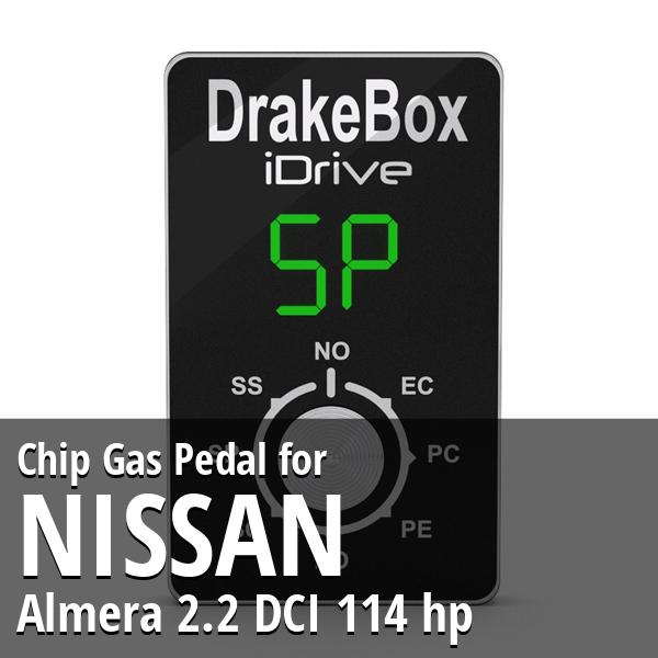 Chip Nissan Almera 2.2 DCI 114 hp Gas Pedal