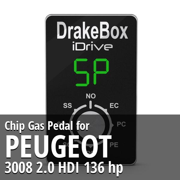 Chip Peugeot 3008 2.0 HDI 136 hp Gas Pedal