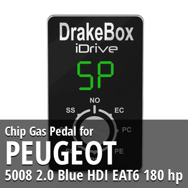 Chip Peugeot 5008 2.0 Blue HDI EAT6 180 hp Gas Pedal