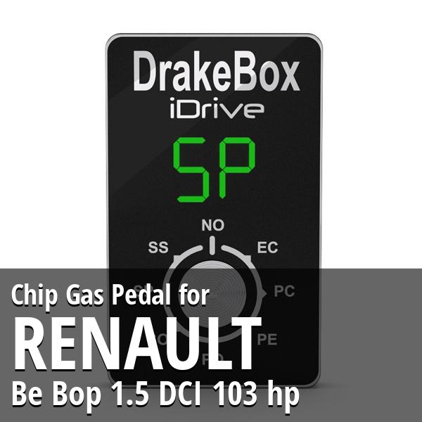 Chip Renault Be Bop 1.5 DCI 103 hp Gas Pedal
