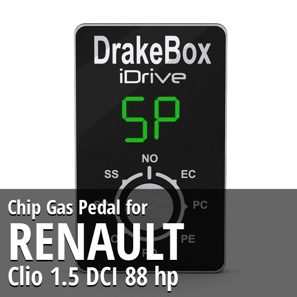 Chip Renault Clio 1.5 DCI 88 hp Gas Pedal