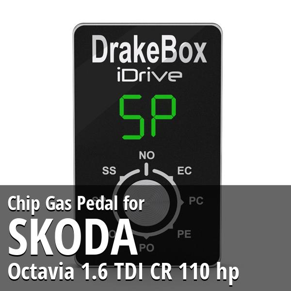 Chip Skoda Octavia 1.6 TDI CR 110 hp Gas Pedal