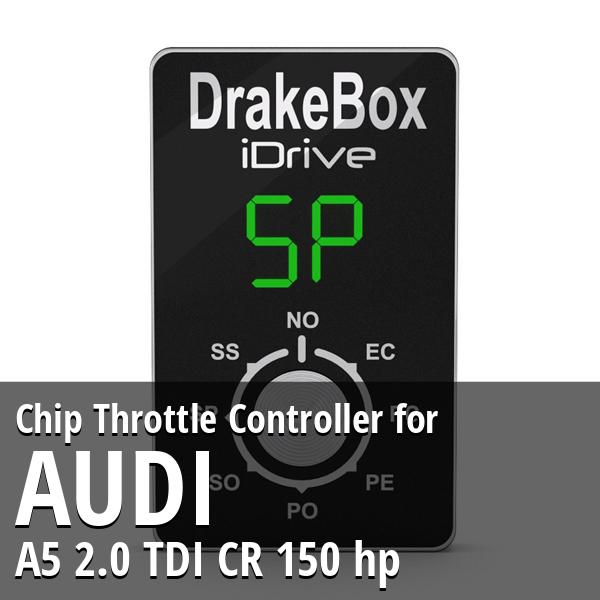 Chip Audi A5 2.0 TDI CR 150 hp Throttle Controller
