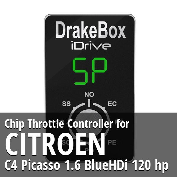 Chip Citroen C4 Picasso 1.6 BlueHDi 120 hp Throttle Controller