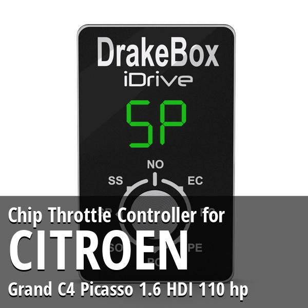 Chip Citroen Grand C4 Picasso 1.6 HDI 110 hp Throttle Controller