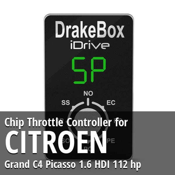 Chip Citroen Grand C4 Picasso 1.6 HDI 112 hp Throttle Controller