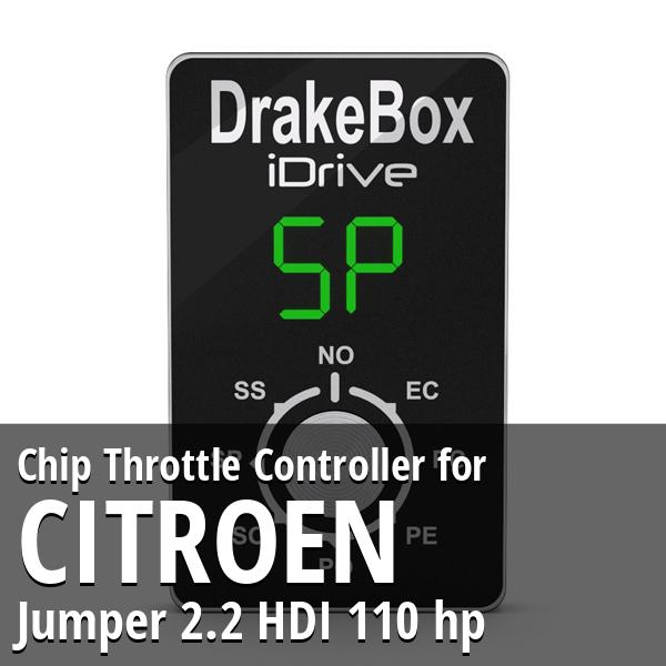Chip Citroen Jumper 2.2 HDI 110 hp Throttle Controller