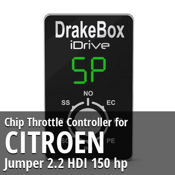 Chip Citroen Jumper 2.2 HDI 150 hp Throttle Controller