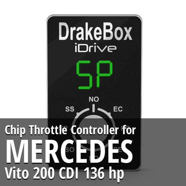 Chip Mercedes Vito 200 CDI 136 hp Throttle Controller