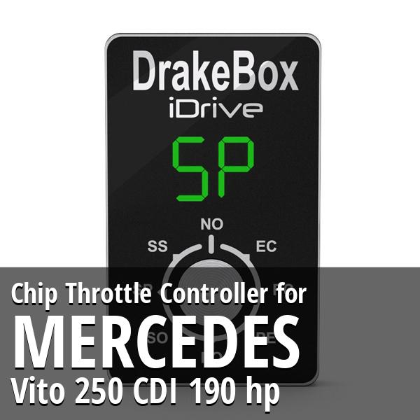 Chip Mercedes Vito 250 CDI 190 hp Throttle Controller