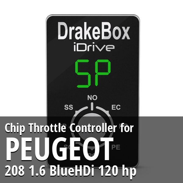 Chip Peugeot 208 1.6 BlueHDi 120 hp Throttle Controller