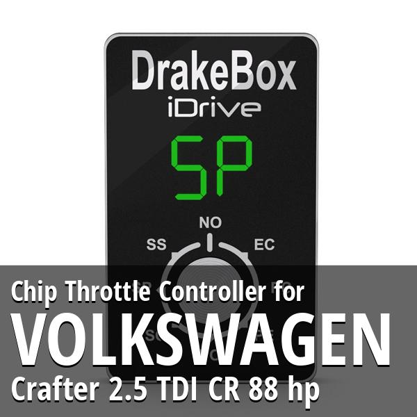 Chip Volkswagen Crafter 2.5 TDI CR 88 hp Throttle Controller