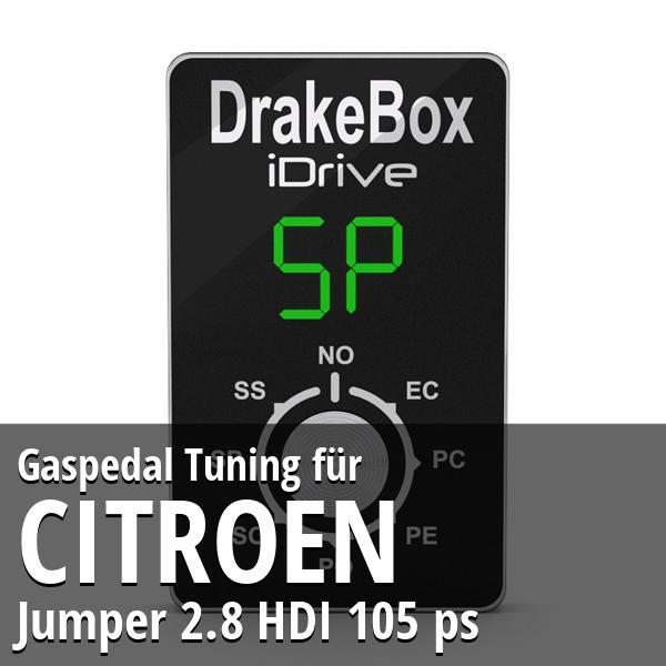 Gaspedal Tuning Citroen Jumper 2.8 HDI 105 ps