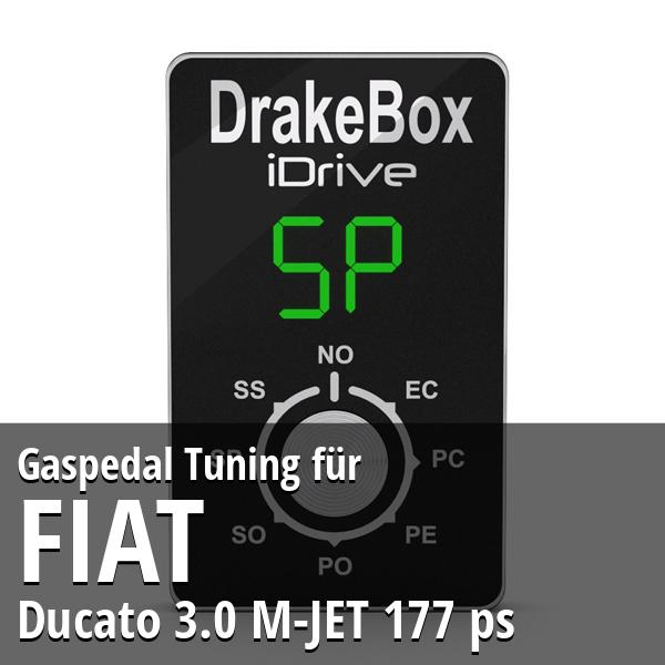 Gaspedal Tuning Fiat Ducato 3.0 M-JET 177 ps