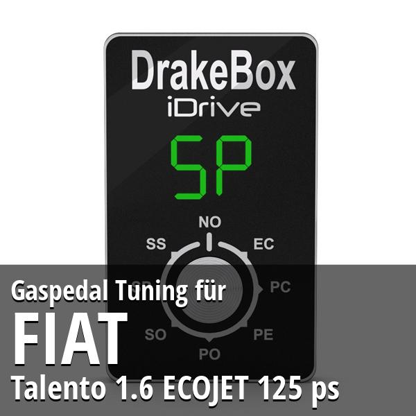 Gaspedal Tuning Fiat Talento 1.6 ECOJET 125 ps