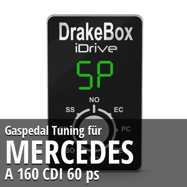 Gaspedal Tuning Mercedes A 160 CDI 60 ps